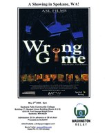 "ASL Movie: ""Wrong Game"", Friday, May 2nd 5 pm at SFCC."