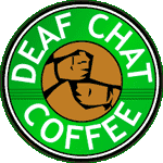 Deaf Coffee Chat every second Thursday of the month