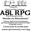 Forming ASL Role Playing Gaming Group